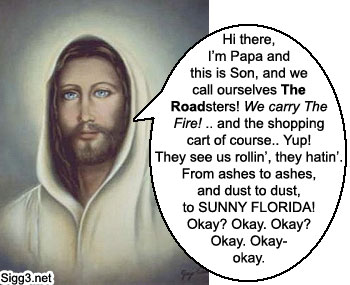 The Road, as interpreted by Jesus